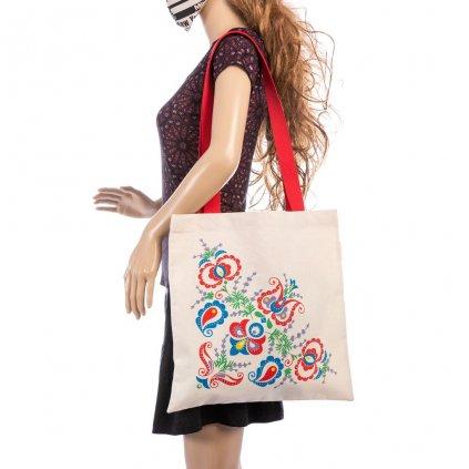 Kvalitní plátěná taška s BIO pytlíčkem levandule