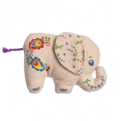 Slon Standa s BIO levandulí Lavandia