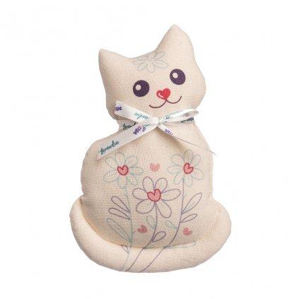 Vonná kočka Mici s BIO levandulí