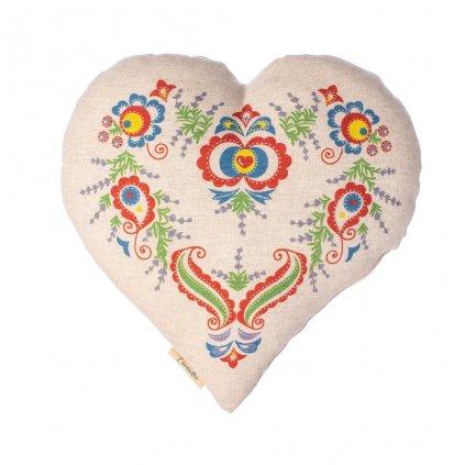 Vonné srdce Lavandia s BIO levandulí