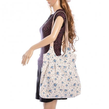 Plátěná taška s volány od naší Danušky