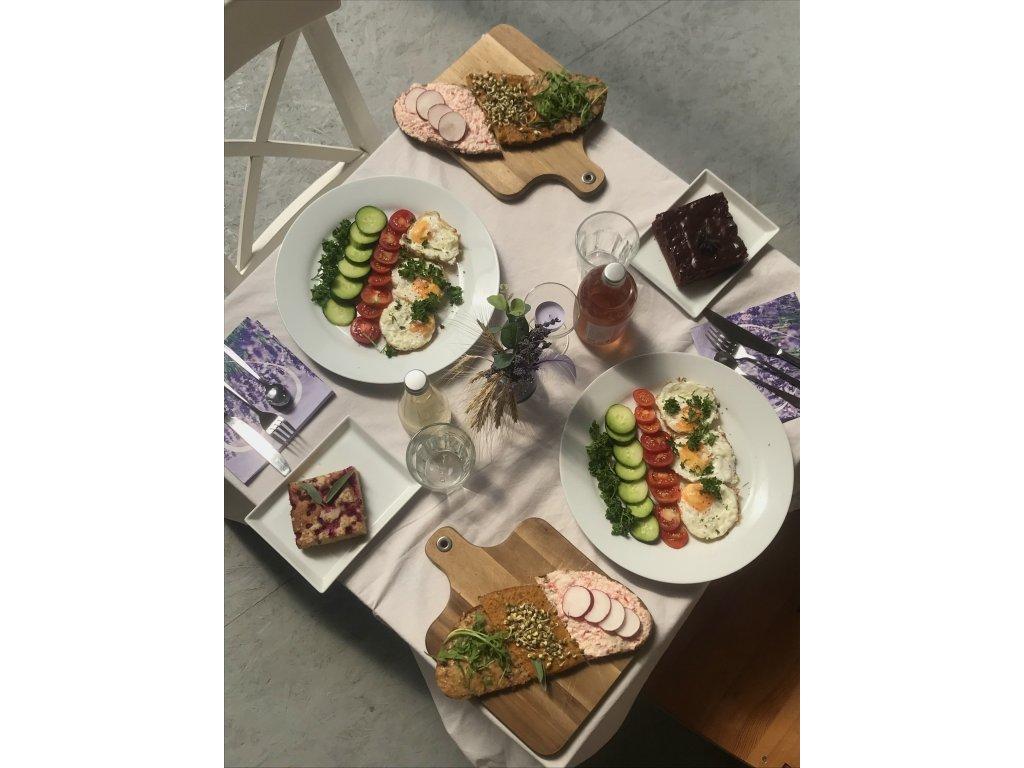Voucher na zážitkovou snídani v BIO Levandulovém údolí