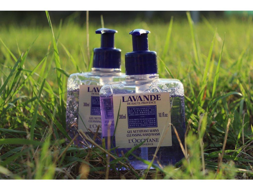 100% Přírodní Levandulové mýdlo  L´Occitane na ruce s pumpičkou