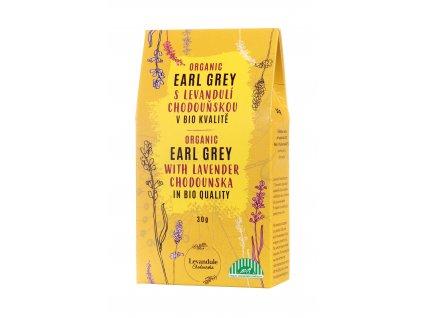 BIO set unikátních sypaných čajů s Levandulí Chodouňskou