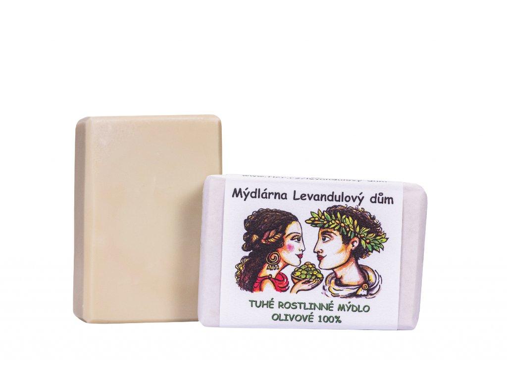 Olivové mýdlo 100%