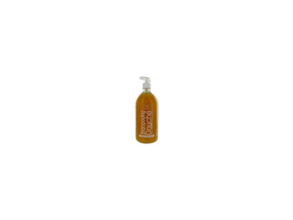 vyr 30naturado shampooing douche abricot xxl 1 litre bio