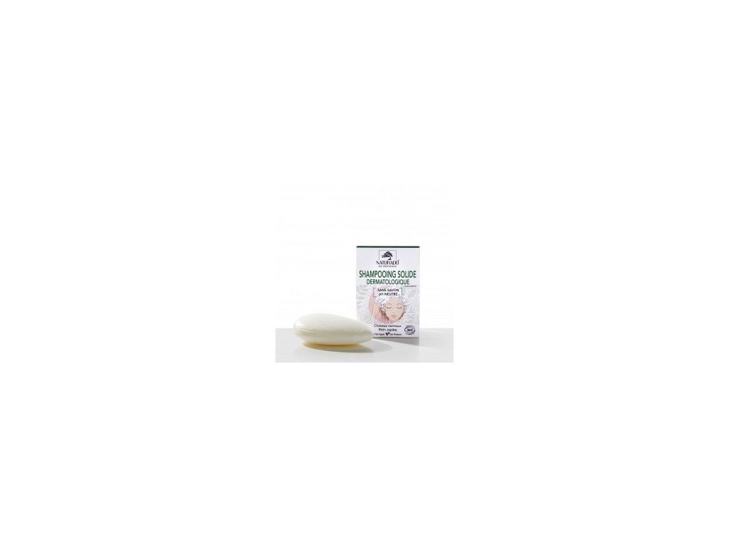 shampooing solide dermatologique bio 75 gm