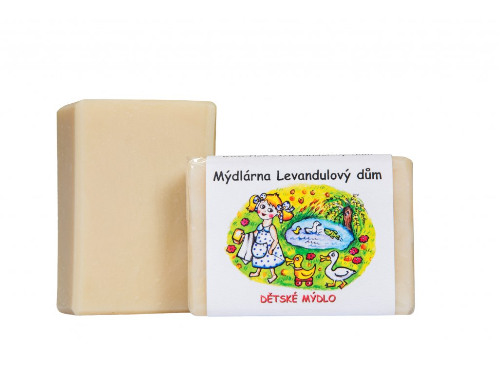 Dětské mýdlo pro děti od narození