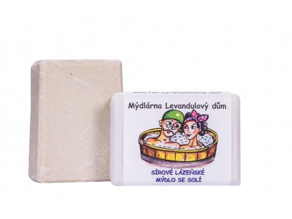 Sírové lázeňské mýdlo se solí