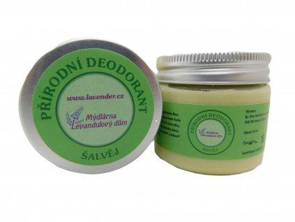 Přírodní deodorant Šalvěj