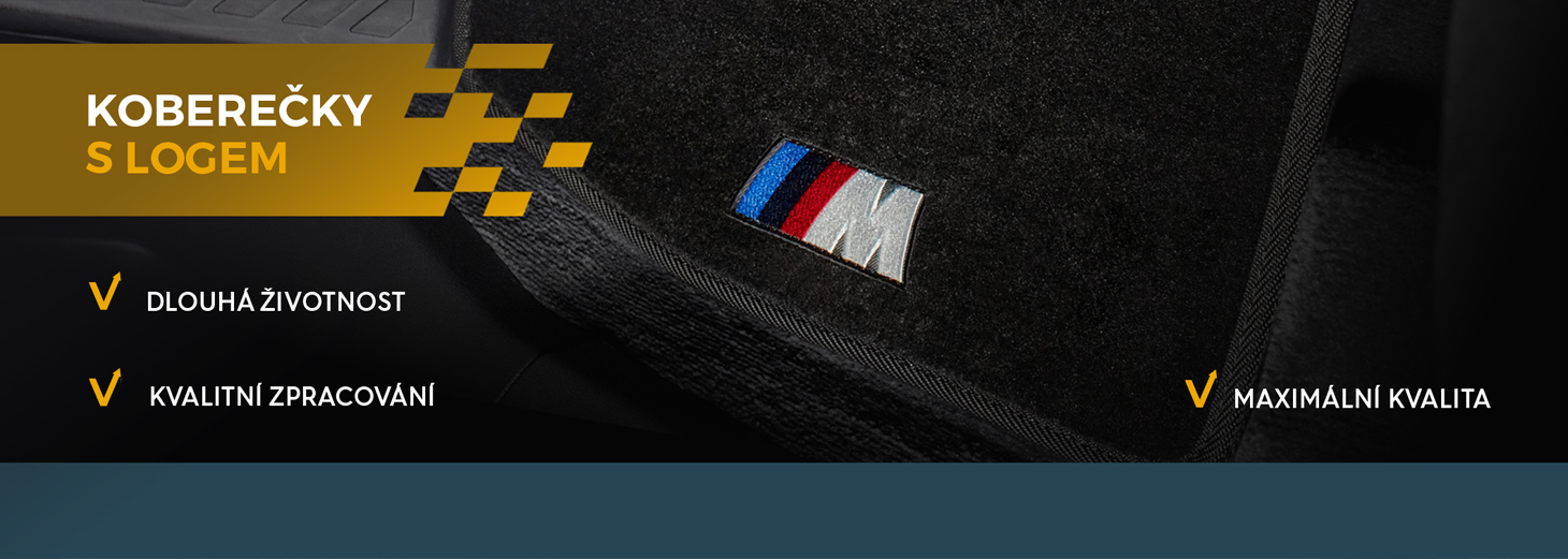 textilní auto koberce