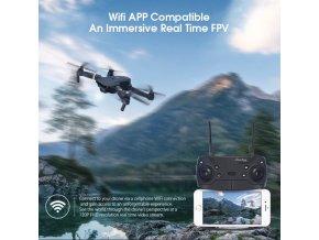 Kapesní dron JY019 s HD kamerou