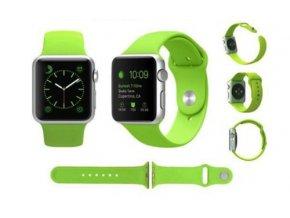 VÝPRODEJ Řemínek pro Apple Watch® - silikonový - 38 mm