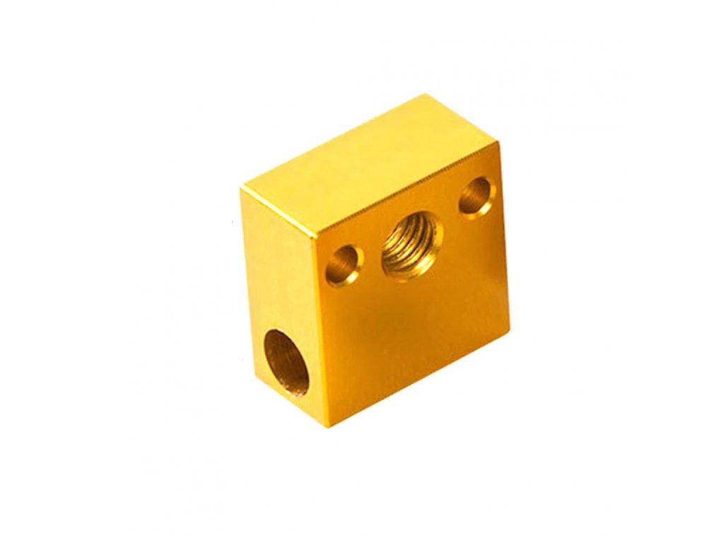 Heatblock Ender 3 zlatý