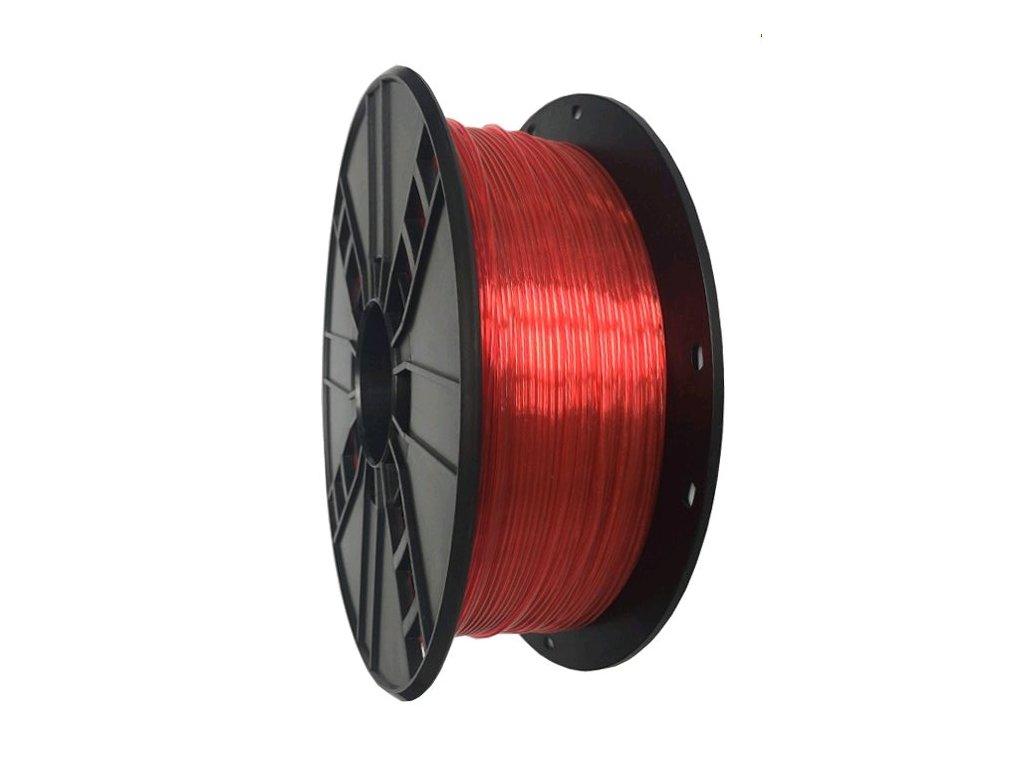 Gembird tisková struna PETG červená