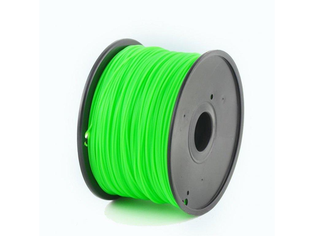 Gembird tisková struna ABS zelená