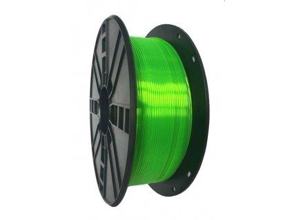 Gembird tisková struna PETG zelená