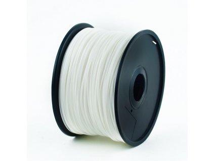 Filament ABS bílý Gembird