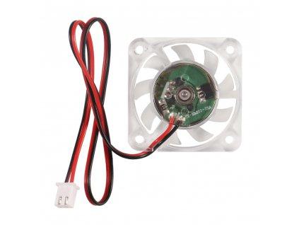 Ventilátor čirý  Creality Ender 40x40x10 24V