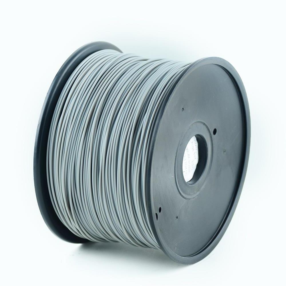 Gembird tisková struna (filament), ABS, 1,75mm, 1kg, Šedá