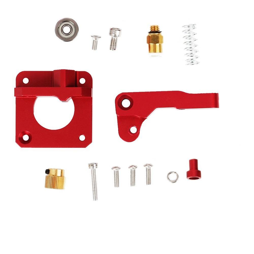 Kovový extruder pro 3D tiskárny Ender - červený