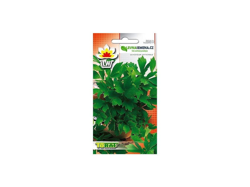 Libeček lékařský -Levisticum officinalis /250 SEMEN/
