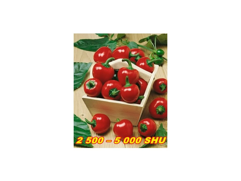 CHILLI PAPRIČKY LARGE RED CHERRY/10 SEMEN/