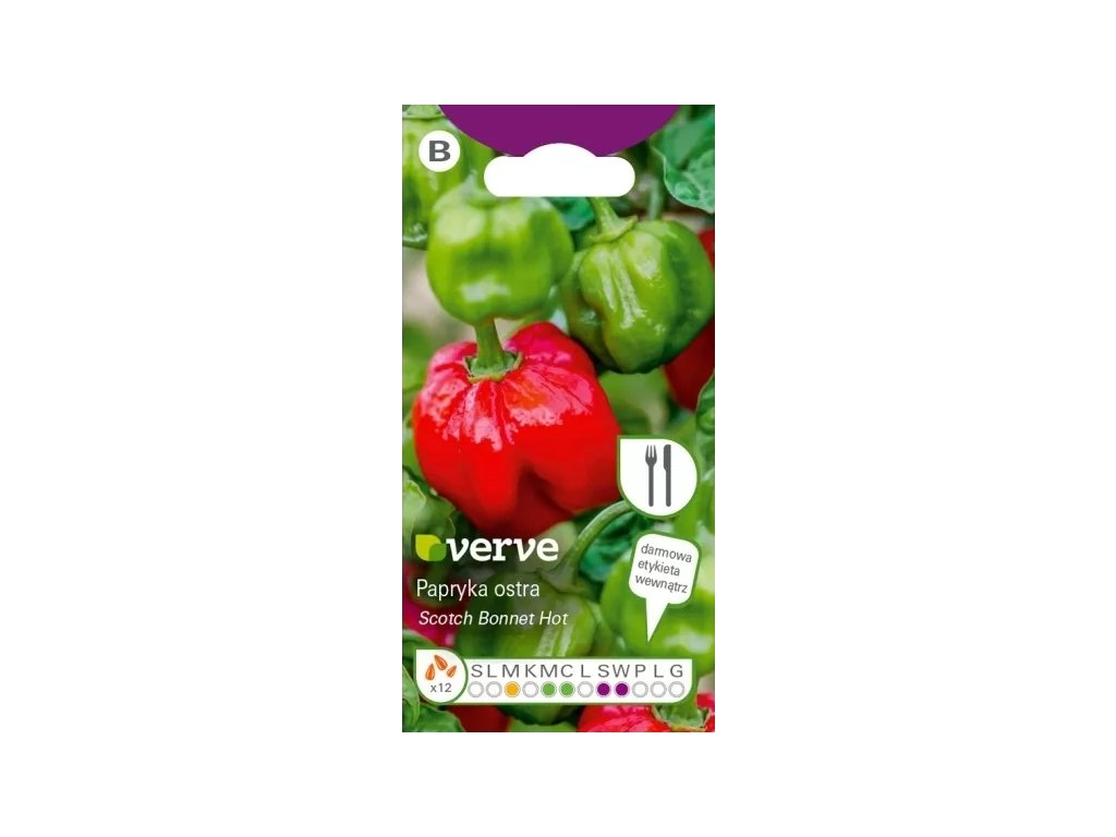 CHILLI PAPRIČKY SCOTCH BONNET RED/10 SEMEN/