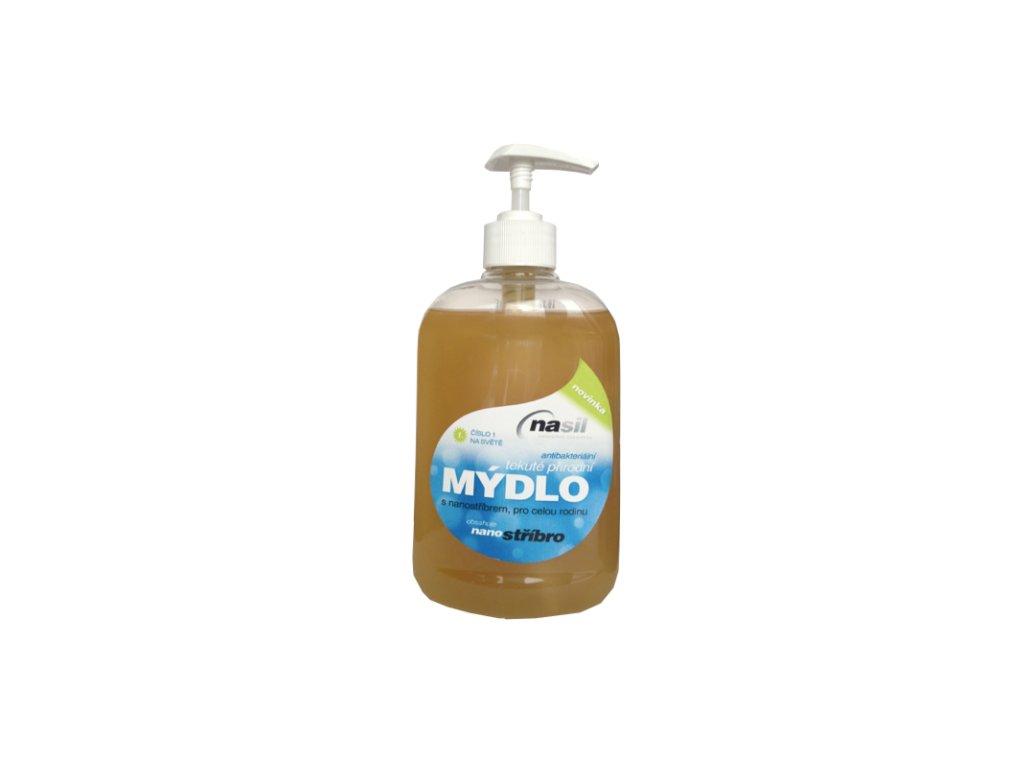 Tekuté mýdlo NASIL obsahující nano stříbro 500ml