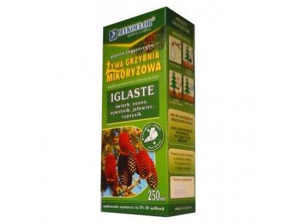 Lesní houby certifikované živé podhoubí pro jehličnany 250 ml /Z/