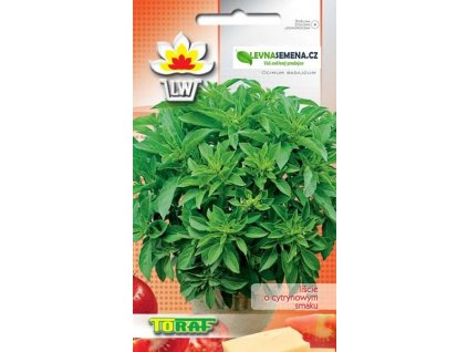 BAZALKA CITRONOVÁ-Ocimum basilicum citriodora /250 SEMEN/