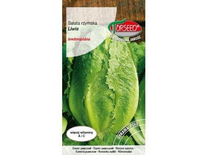 SALÁT ŘÍMSKÝ ODRŮDA LIVIA/340 semen/