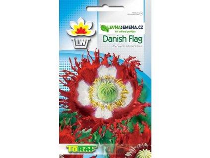 Mák lékařský-Danish Flag /1200 semen/