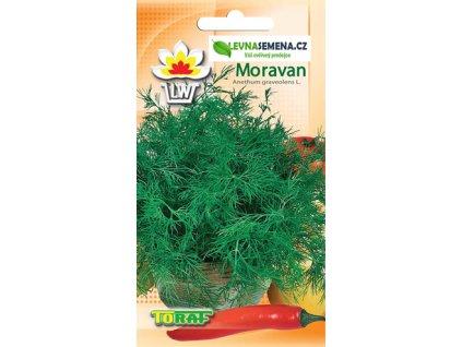 KOPR ZAHRADNÍ, ODRŮDA MORAVAN/2100 semen/