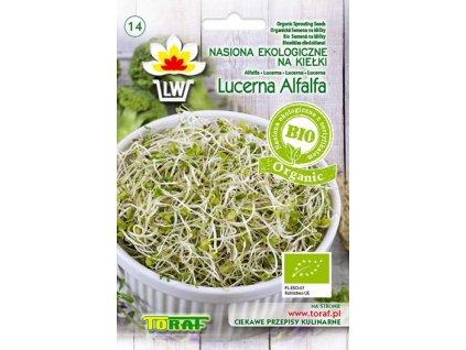 KLÍČKY lucerna alfalfa BIO