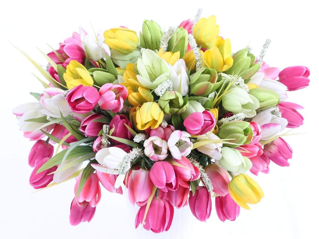 Květiny jako živé...