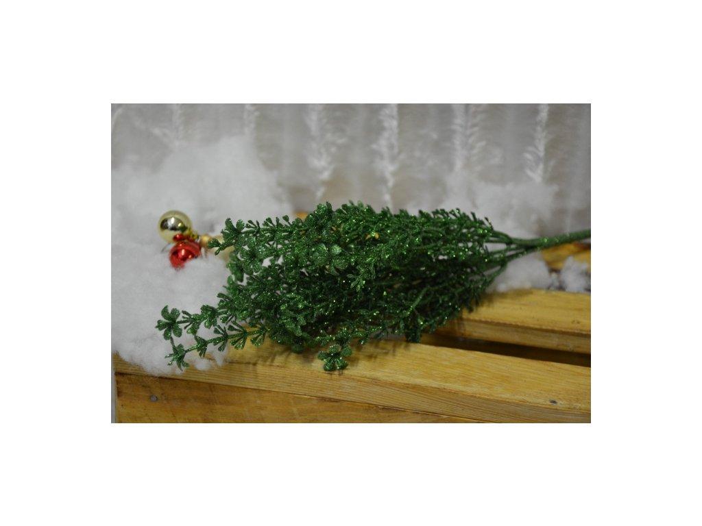 CERINO Vánoční větvička TYP4 30cm zelená