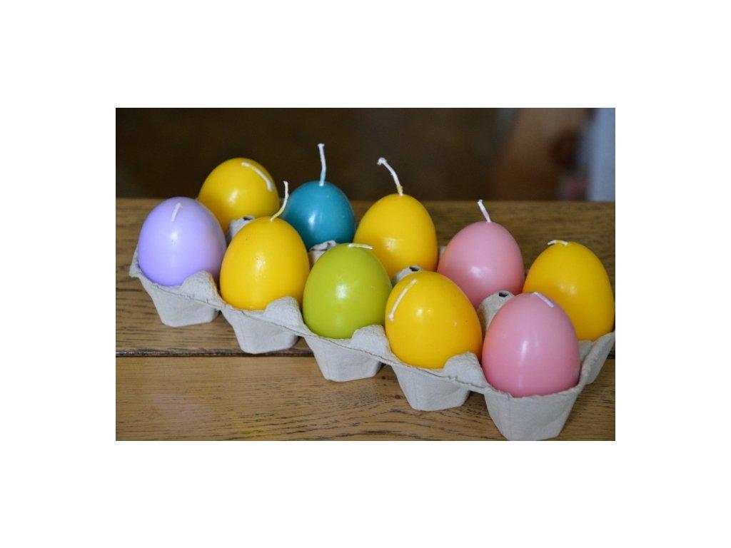 CERINO Velikonoční svíčka motiv vajíčko hladké