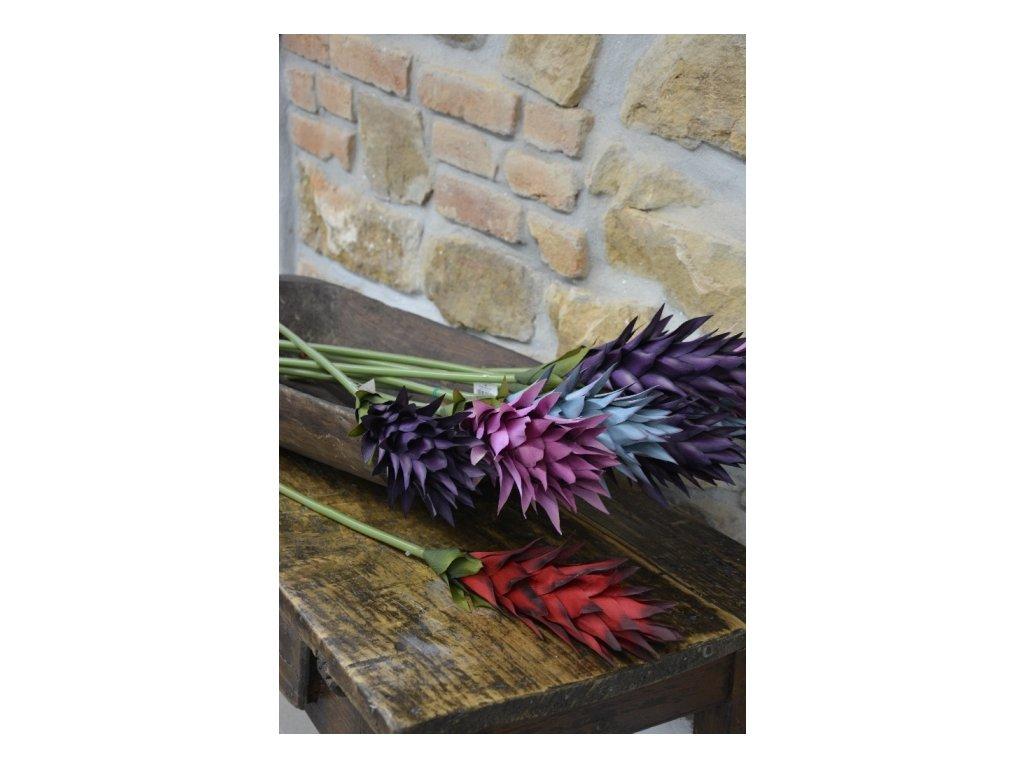 CERINO Umělá květina Kurkuma, 90cm fialová 1ks