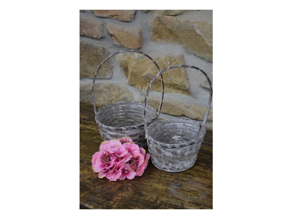 CERINO Umělá květina HORTENZIE aranžovací 15cm růžový 1ks