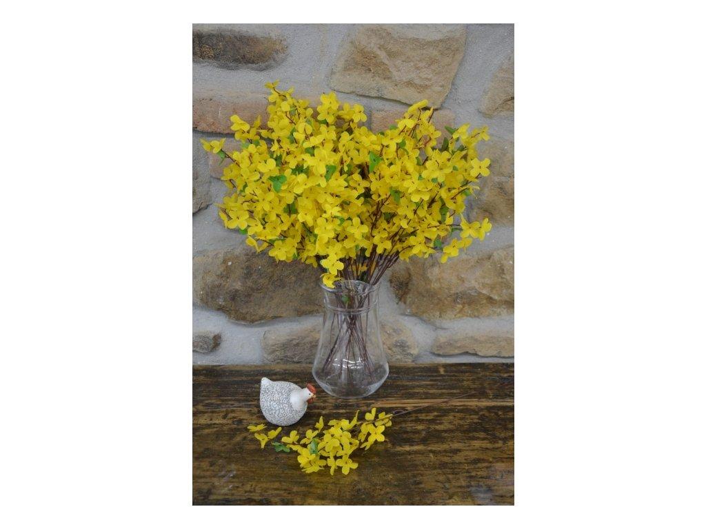 CERINO Umělá květina Zlatý déšť, 50cm