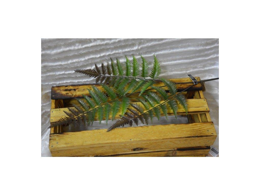 CERINO Umělá rostlina kapradí 88cm zelená 1ks list