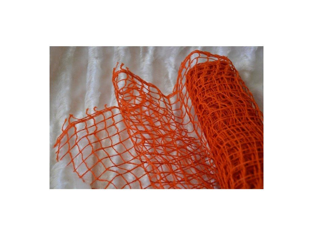 CERINO Aranžovací síť 5m x 0,5m oranžová