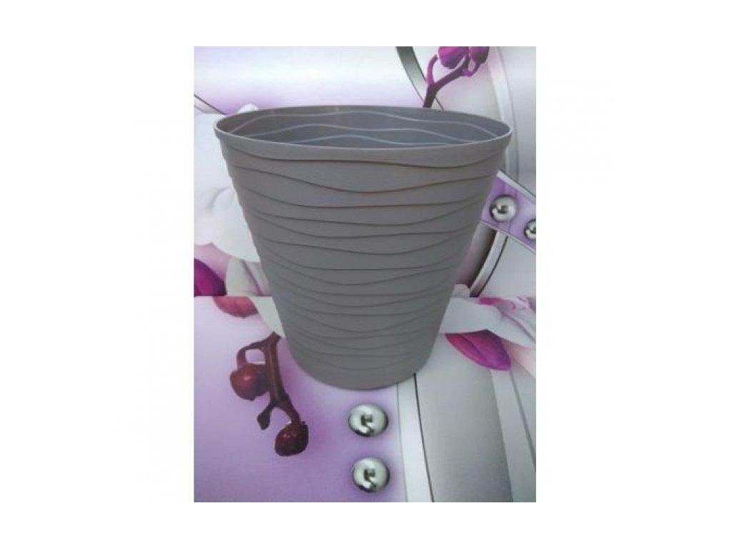 Prosperplast Květináč Tedi 19, šedý