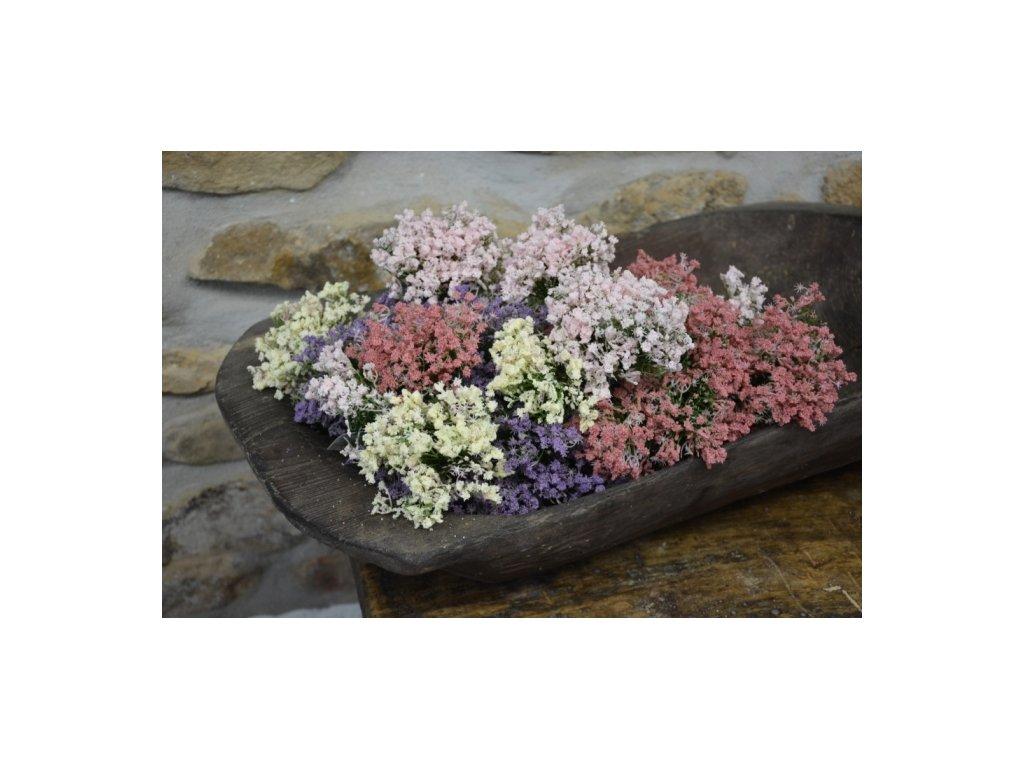 CERINO Umělá květina VŘES 20cm lososová 1ks trsík