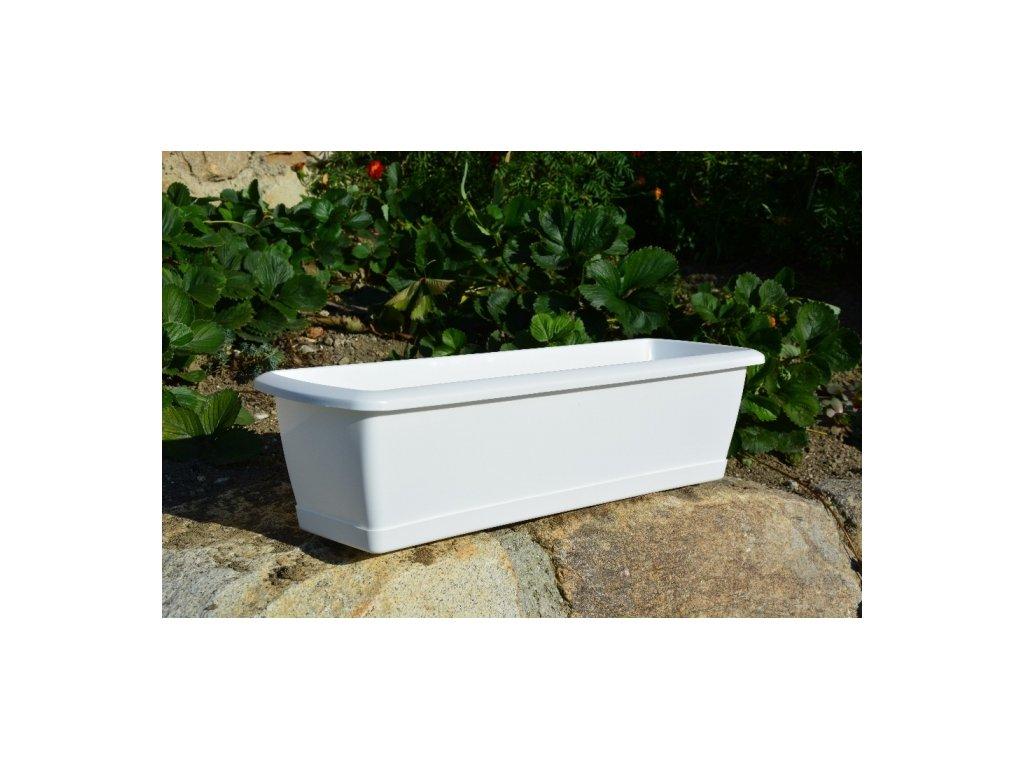 Prosperplast Truhlík Espana ISE400P 39,2x18,4x14,5cm bílý