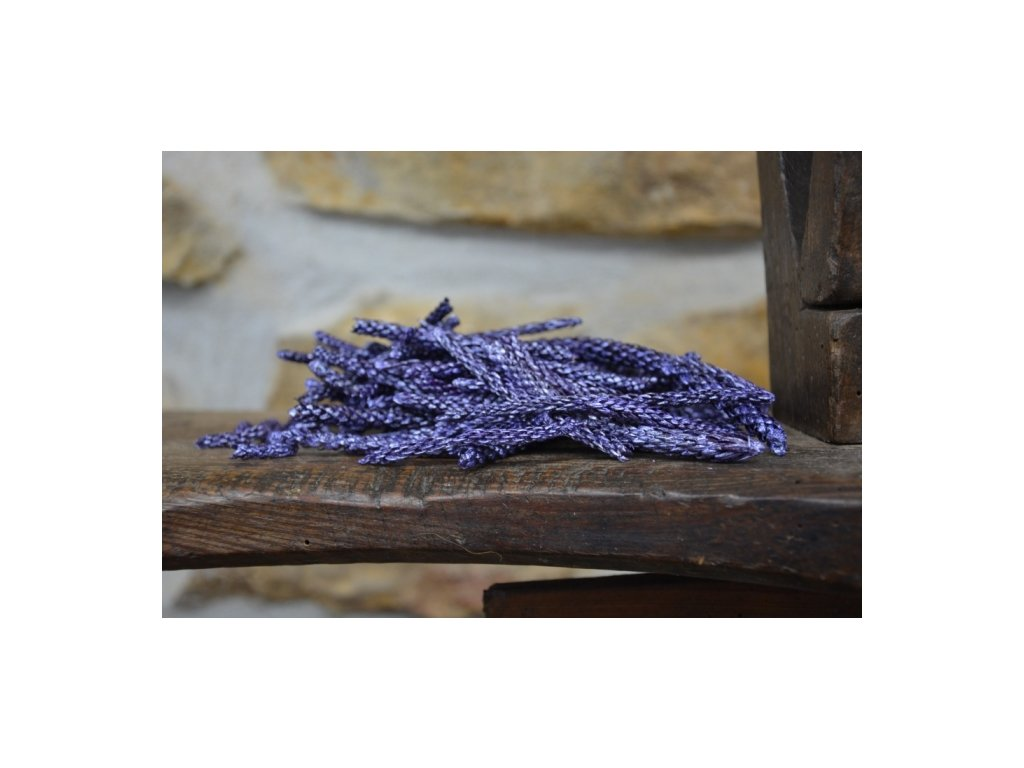 Cerino květ sušený barvený 40g fialová