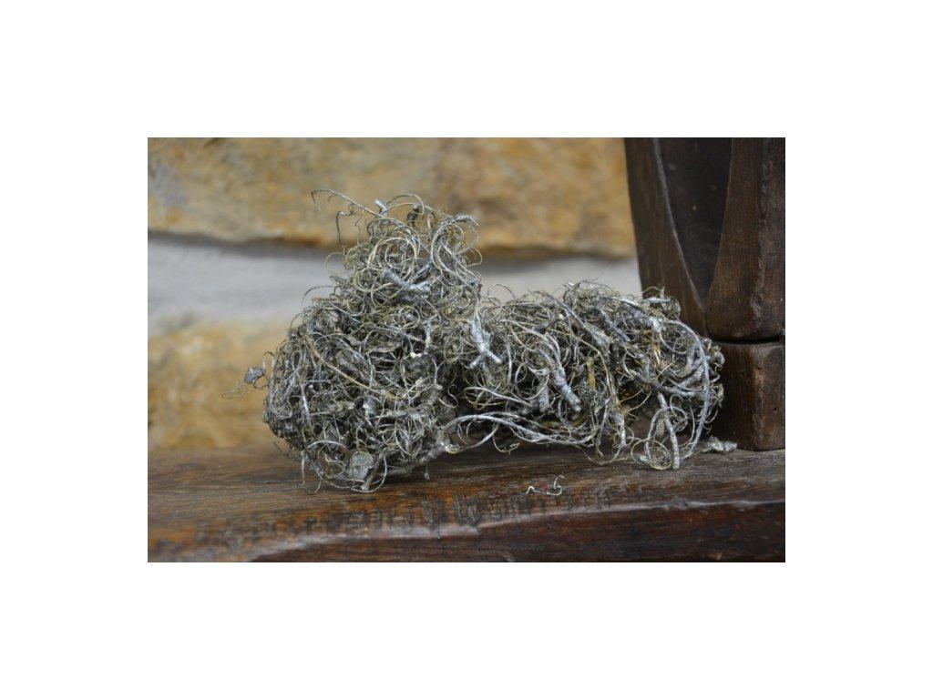 Cerino sušené kořínky barvené 50g metalická