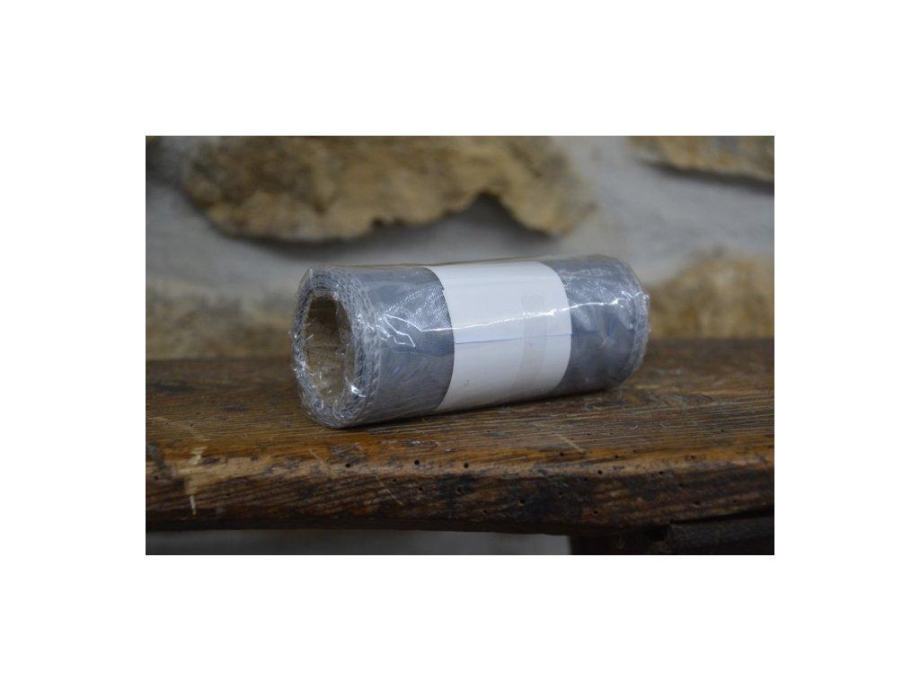 CERINO Aranžovací stuha organza 12cm x 8m šedá