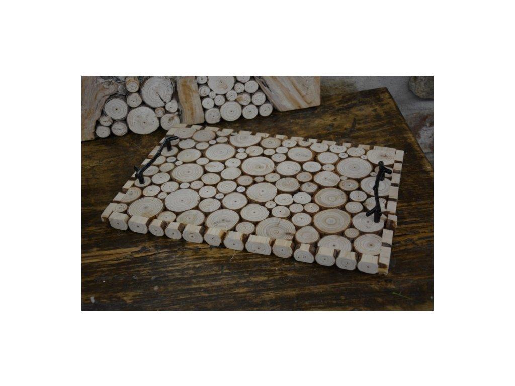 Cerino tác dřevěný 40x26x2